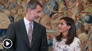 El último desencuentro de Felipe y Letizia se vuelve viral en Alemania / Gtres