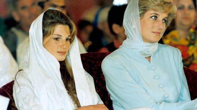 Jemima Goldsmith y Diana de Gales
