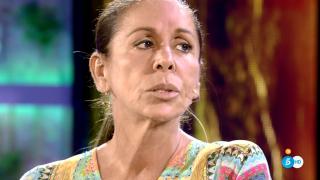Isabel Pantoja, toda una estrella en el plató de 'Supervivientes'./Mediaset