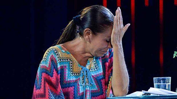 Isabel Pantoja durante un momento de la gala de 'Supervivientes' / GTRES