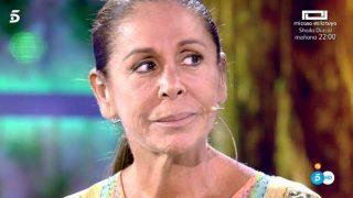 Isabel Pantoja en el plató de 'Supervivientes' / Mediaset