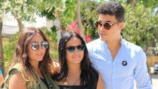 Gloria Camila, Kiko Jiménez y Rocío Flores  en una imagen de archivo / Gtres