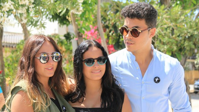 Gloria Camila, Kiko Jiménez, Rocío Flores en una imagen de archivo / Gtres