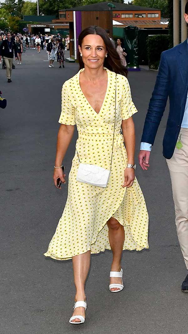 Pippa Middleton en el torneo de Wimbledon / GTRES