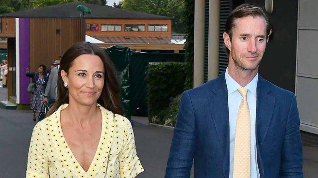 Pippa Middleton y James Matthews en el torneo de Wimbledon / GTRES