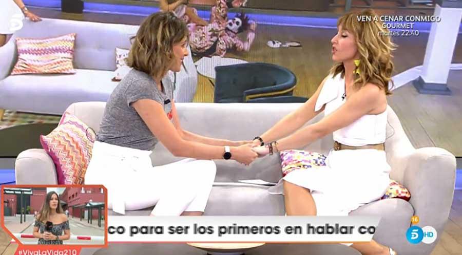 Sandra Barneda ha cogido el testigo de Emma García en 'Viva la vida' / Mediaset