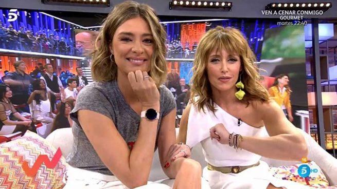 Sandra Barneda y Emma García en 'Viva la vida' / Mediaset