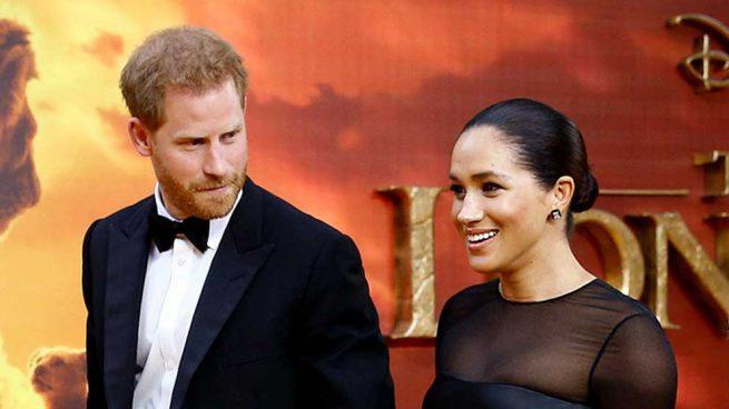 Meghan Markle y el Príncipe Harry en el estreno londinense de 'El rey león' / GTRES