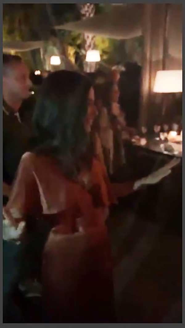 Sandra Gago bailando durante su despedida de soltera / Instagram