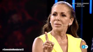 Isabel Pantoja, estrella indiscutible de la noche./Mediaset