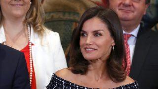 La reina Letizia en Zarzuela / Gtres