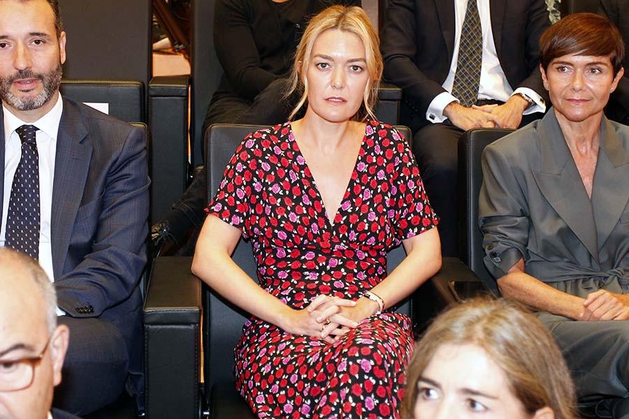 Marta Ortega durante la última junta de accionistas de Inditex / GTRES