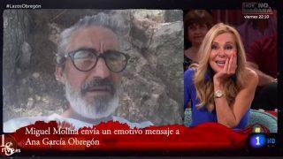 Ana Obregón y Micky Molina mantuvieron una relación a comienzos de la década de los 2000./RTVE
