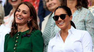 Kate Middleton y Meghan Markle, en la final de Wimbledon / Gtres