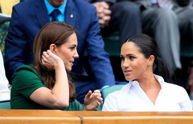 El cariñoso gesto de Kate Middleton con Meghan Markle que entierra su mala relación