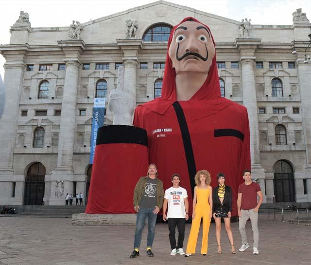 Presentación de 'La casa de Papel' en Milán / GTRES