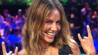 Mónica Hoyos se mostró encantada de reencontrarse con Colate./Mediaset