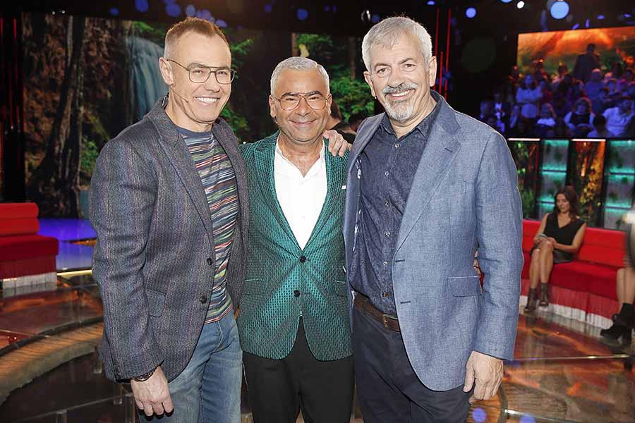 Jorge Javier Vázquez, Jordi González y Carlos Sobera han sido los presentadores de 'Supervivientes' / GTRES