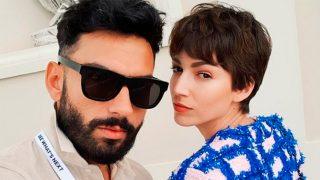 Úrsula Corberó y el estilista Iván Gómez en una fotografía de Instagram / Instagram