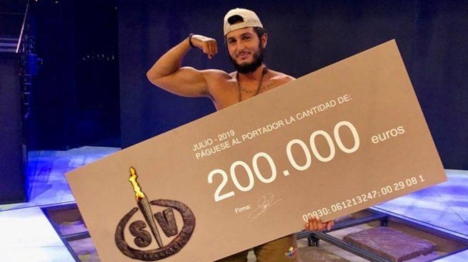 Omar Montes se proclama vencedor de la histórica edición de 'Supervivientes'