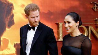 Harry y Meghan en el estreno de 'El rey león' / GTRES
