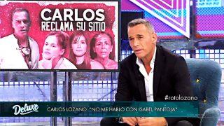 Carlos Lozano arremete contra Isabel Pantoja y Miriam Saavedra le hace dos 'cobras' / Mediaset