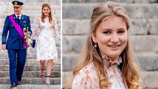 Elisabeth de Bélgica eclipsa a sus padres en la Fiesta Nacional / Gtres