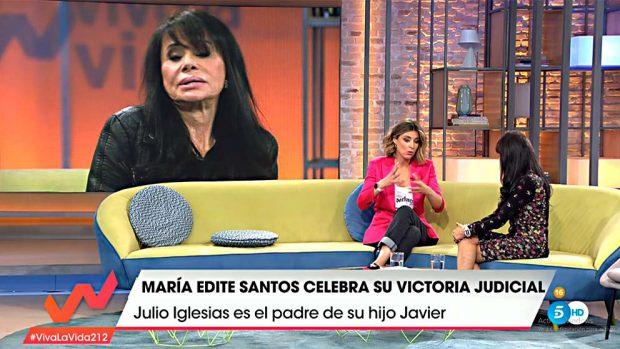 María Edite Santos en 'Viva la vida'