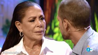 Isabel Pantoja y Albert no han logrado acercar posturas./Mediaset