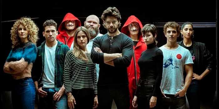 La banda de atracadores de 'La casa de Papel' se han convertido en una colección cápsula para Diesel / Netflix