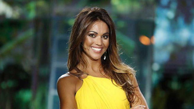 Lara Álvarez durante la final de 'Supervivientes' / GTRES