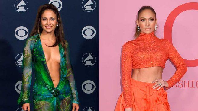 Composición ayer y hoy Jennifer Lopez