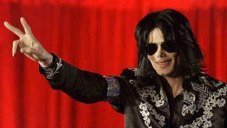 Michael Jackson durante el anuncio de la que fue su última gira, en marzo de 2009 / GTRES