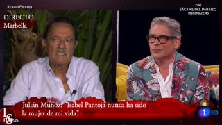 Julián Muñoz intervino en directo en el programa 'Lazos de Sangre'./RTVE