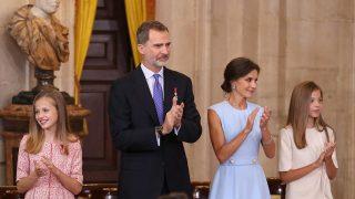 Doña Letizia y don Felipe, a la espera de una resolución política / Gtres.