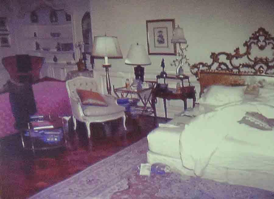Imagen de la habitación de Michael Jackson tras su muerte / GTRES