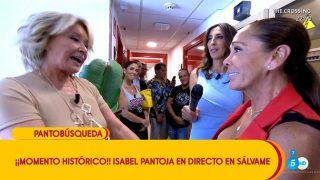 Isabel Pantoja en 'Sálvame' / Mediaset