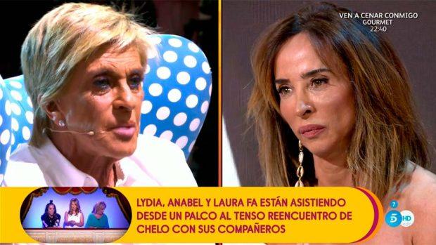 Chelo García-Cortés y María Patiño