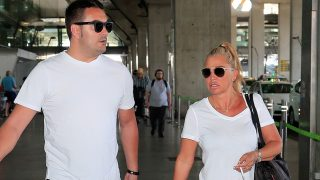 Belén Esteban se escapa a Italia: las fotos de su primer viaje como casada / Gtres