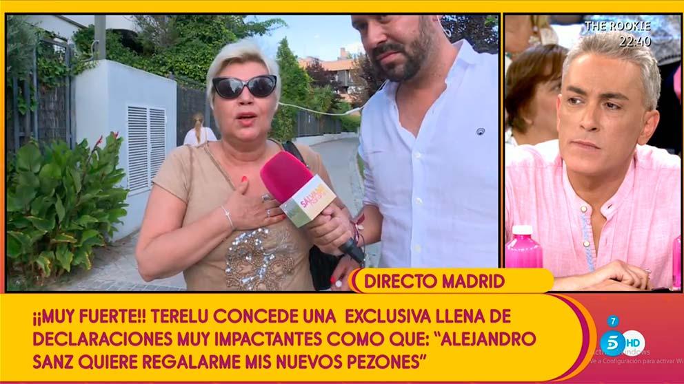 Terelu Campos sálvame