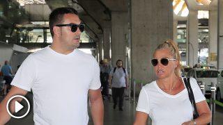 Belén Esteban y Miguel Marcos vuelven de sus vacaciones /Gtres