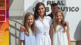 La reina Letizia y sus hijas / Gtres