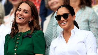 Las 'royals' Kate Middleton y Meghan Markle. / Gtres