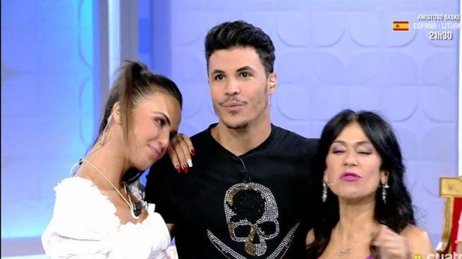 Kiko Jiménez, Sofía Suescun y Maite Galdeano