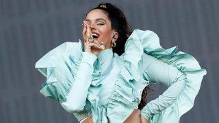 La cantante Rosalía en el festival Mad Cool. / Gtres