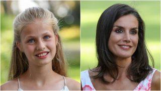 Desciframos los looks de Leonor y Letizia / Gtres.