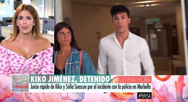 Kiko Jiménez y Sofía Suescun