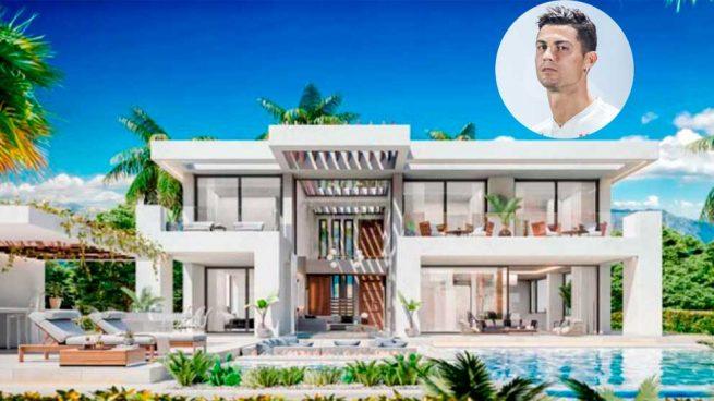 Entramos en la espectacular mansión que Cristiano Ronaldo se ha comprado en Estepona