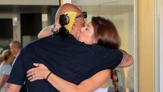 Anita Matamoros ha estado junto a su padre, Kiko Matamoros, en su ingreso hospitalario / Gtres