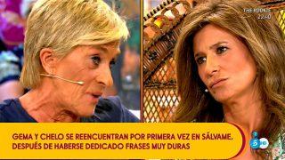 Chelo García-Cortés y Gema López, cara a cara en 'Sálvame' / Mediaset